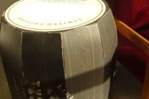 Custom Fabrication Beer Barrel Floor Display